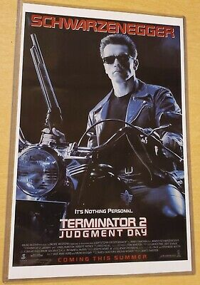 Terminator 2: Judgment Day 11X17 Movie Poster