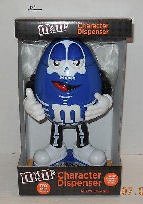 M & M's Brand Halloween Blue Skeleton Candy Dispenser Limited Edition Series (Halloween M&m Dispenser)
