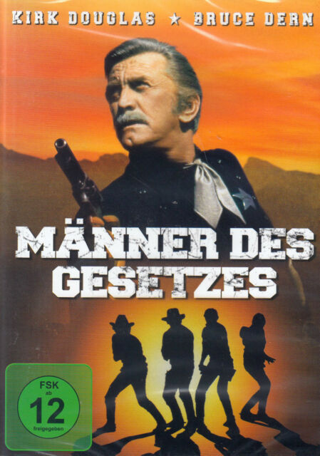 DVD NEU/OVP - Männer des Gesetzes - Kirk Douglas & Bruce Dern