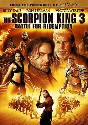The Scorpion King 3: Battle for Redemption (DVD, 2012, Widescreen)