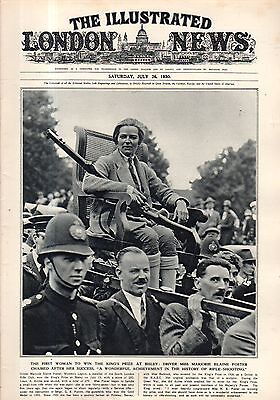 1930 London News July 26 Einstein At Home  8 Photos  Ford Model A Travel Trailer