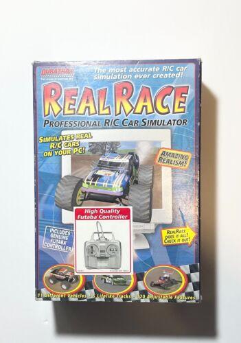 DURATRAX FUTABA CONTROLLER Real Race Professional R/C Car Simulator *NO CD-ROM*