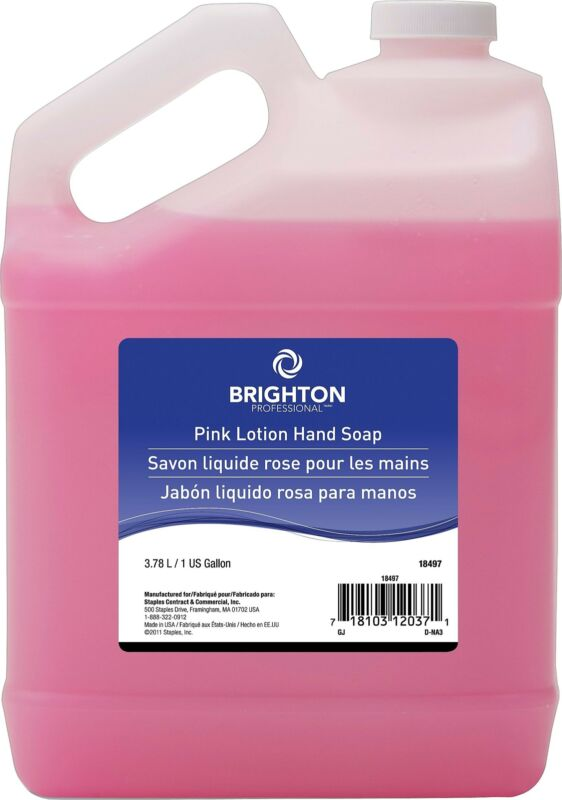 Brighton Professional Professional Hand Soap with Lotion Light Floral 1 Gallon