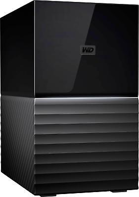 WD - My Book Duo 8TB 2-Bay External USB Type-C Storage - Black