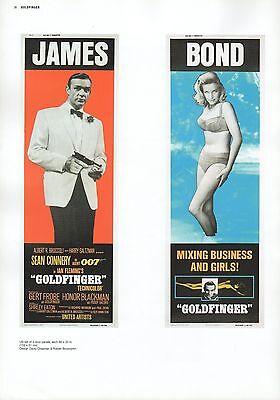 "2002 Vintage JAMES BOND /""THUNDERBALL/"" BRITISH MINI POSTER Art Plate Lithograph"