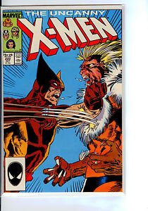 MARVEL-X-MEN-222-SUPER-HIGH-GRADE-WOLVERINE-VS-SABRE-TOOTH