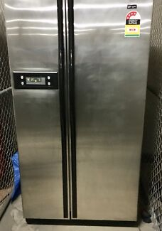 maytag stainless steel twin door
