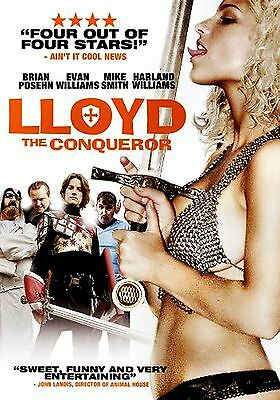 NEW DVD // LLOYD THE CONQUEROR - Brian Posehn, Mike Smith, Evan Williams, Tegan