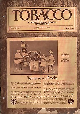 1935 Tobacco Magazine February 14