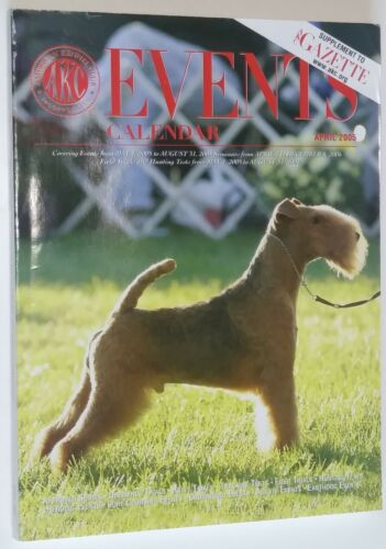 AKC Events Calendar Magazine Lakeland Terrier Cover April 2005