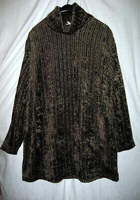 2-Teiler Kostüm Shirt und Rock Pannesamt braun Gr. 44 46 - SUPER kaum - Super Übergröße Kostüm