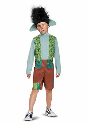 Trolls Branch Halloween Costume Child Kid Boy S 4-6