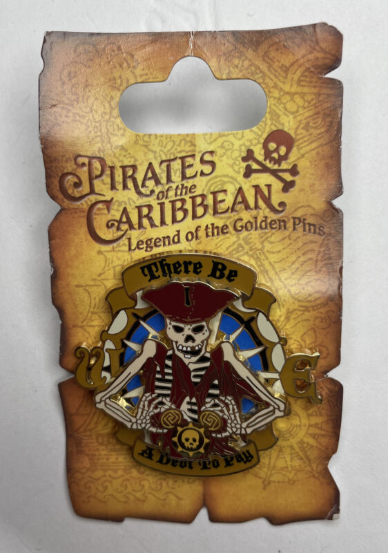 Pirates of the Caribbean - There be a Debt to Pay Pin 47078