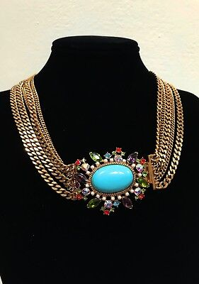 Carolee Lux Collection Fashion Statement Necklace