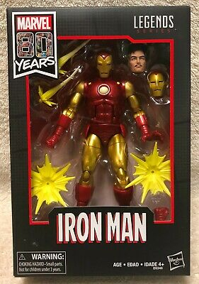 Marvel Legends 80th Iron Man 6-Inch Figure BNIB