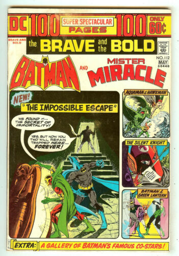 Brave And The Bold 112   Batman & Mister Miracle   100 Pages