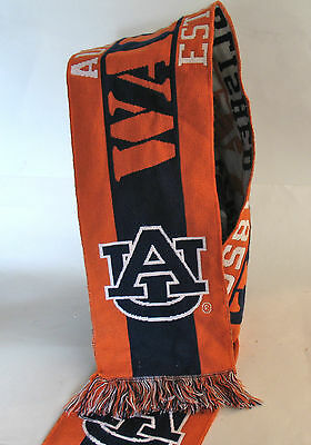 Orange/Blue Auburn University Tigers Scarf Officially Licensed -