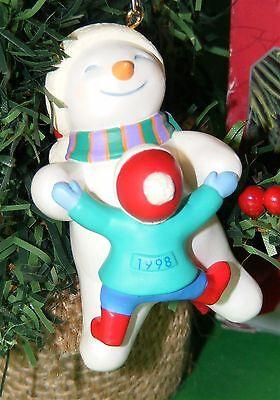 Hallmark Ornament 1998 Kostüm Beinarbeit Schneemann Tanzend mit - Tanzen Mann Kostüm