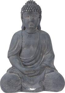 Very Large Sitting Buddha Statue Garden Ornament 50cm Meditating Buddha