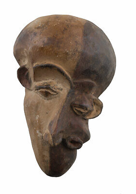 Masquette Pende Mask of the Disease African Pasport 15 cm Art First 16912