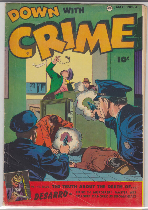 DOWN WITH CRIME #4