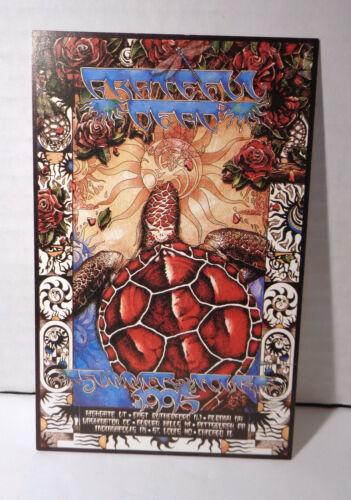 Vintage 1995 Grateful Dead Summer Tour Concert Handbill!