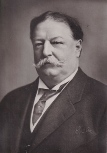 WILLIAM HOWARD TAFT  President original Pach Brothers photograph blind stamped