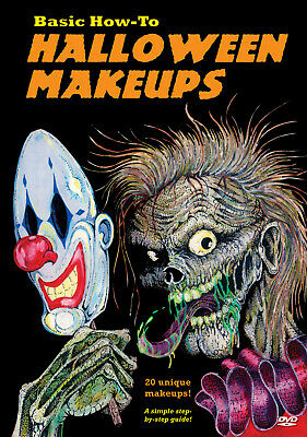 Basic How-to Halloween Makeups DVD Tempe Video 2005 horror effects tutorials (Horror Movie Halloween Makeup)