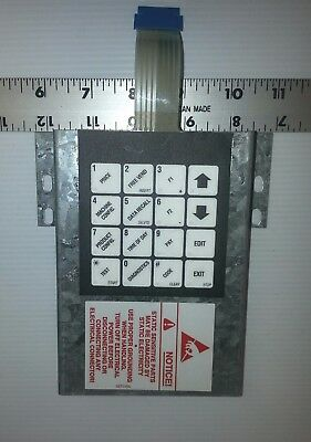 Crane National 431 Cold Food Vending Machine Service Touch Pad Matrix Membrane
