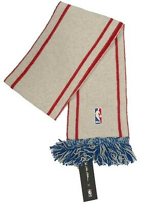 NEW The Elder Statesman x NBA Cashmere Scarf! Thick & Soft Made in USA