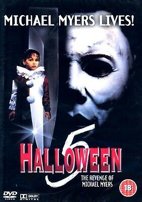 Donald Pleasence Halloween 5 (Halloween 5 -The Revenge of Michael Myers Donald Pleasence, Harris NEW UK R2 DVD)