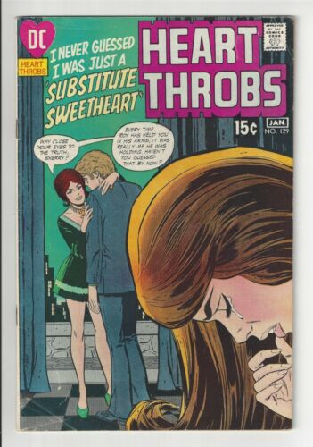 HEART THROBS #129, 1970-71, VG CONDITION COPY