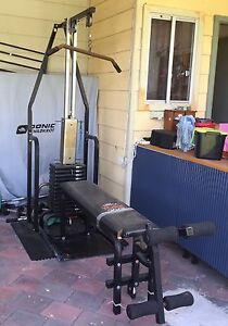 York 2001 overhead weight bench Hornsby Heights Hornsby Area Preview