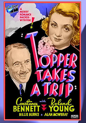 Topper Takes A Trip starring Constance Bennett and Roland Young (Topper Movies)
