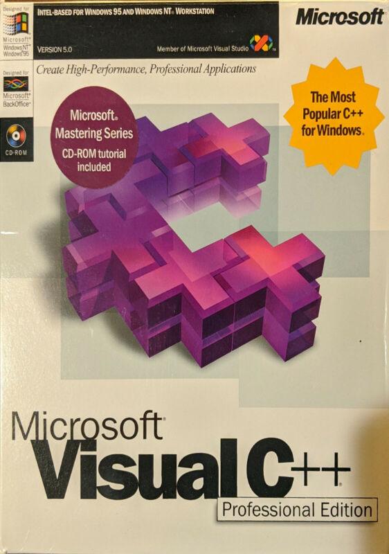Microsoft Visual C++ Professional Edition V5.0