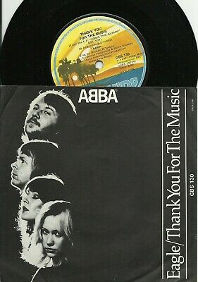 ABBA   SOUTH AFRICA  PS  45   EAGLE  /  THANK YOU FOR THE MUSIC