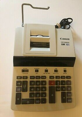 Canon Cp1200dii Commercial Desktop Calculator - 12 Character[s] - Fluorescent -