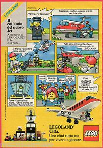 Pubblicita-Advertising-LEGO-1985-Il-collaudo-del-nuovo-jet