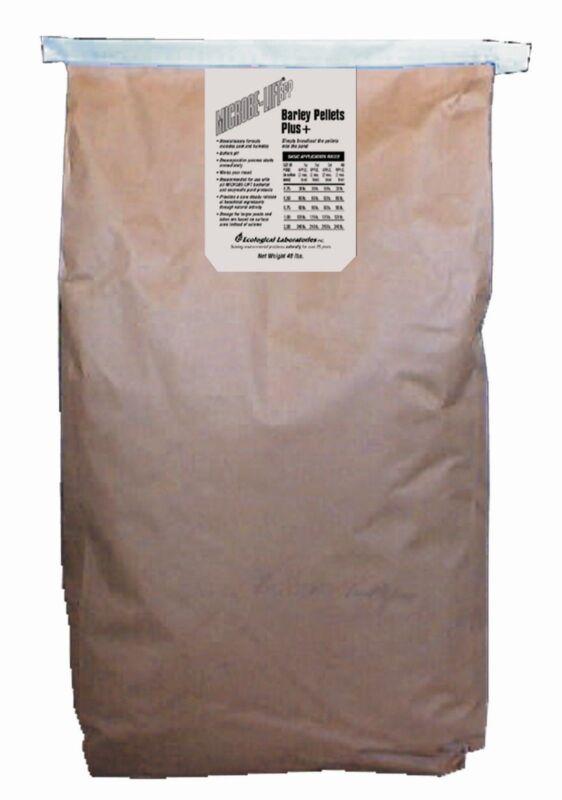 Microbe-Lift Barley Straw Pellets 40 lb bag BPPX40