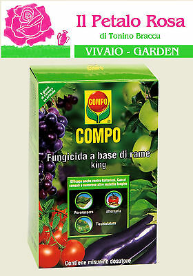 COMPO FUNGICIDA A BASE DI RAME KING CON DOSATORE 125 ML ANTICRITTOGAMICO