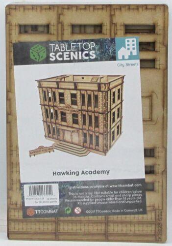 TTCombat TTSCW-DCS-123 Hawking Academy (City Streets) Terrain Building Scenery