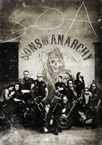 SONS OF ANARCHY TV Show PHOTO Print POSTER Series Art Redwood Originals SOA 002