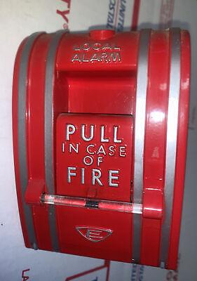 Vintage Edwards Signaling 270-spo Fire Alarm Pull Station