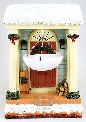 NEW Yankee Candle Holiday Front Porch Door Light Up Hanging Warmer Tart Burner