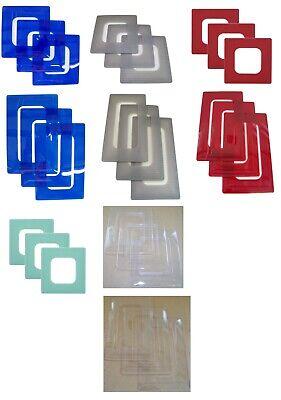 hutz Wandschutz für Tapeten rot/blau/mint/grau/transparent (Grau Dekor)