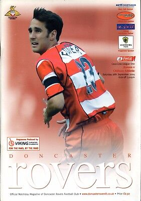 B18 Doncaster Rovers v Oldham Athletic 18/09/04 League 1