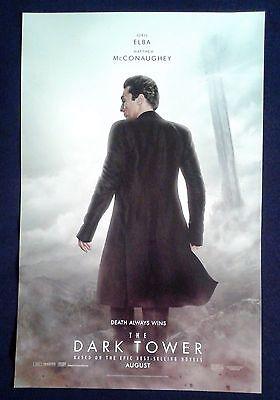 The Dark Tower  2017  Poster 11X17 Matthew Mcconaughey  Stephen King