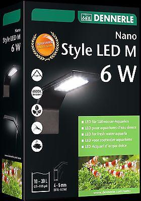 Dennerle NANO Style LED M 6 W Watt  Aufsteckleuchte - 24Std.Versandservice Nano Led