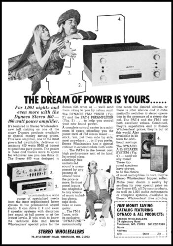 1973 Harem girl genie Stereo wholesalers Maryland vintage photo print Ad ads9