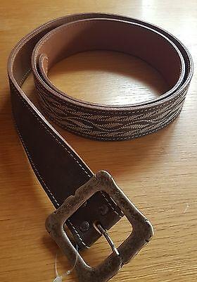 Trachtengürtel aus Leder für Männer (neu) - 120 - Tracht Für Männer